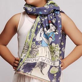 Disney By Shingora Printed Cotton, Viscose Women's Scarf - SCFEFYUQTZFT3EZT