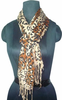 Ryan Animal Print Viscose Women's Scarf