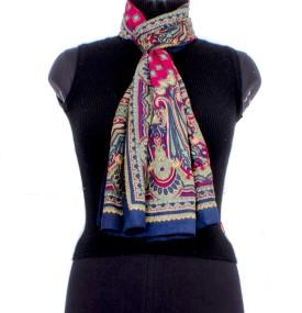 Trendif Floral Print Cotton Women's Scarf