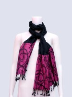 Rangmanch Printed Silk Women's Scarf