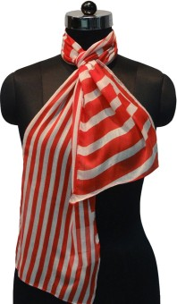 Otua Striped Polyester Women's Scarf