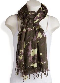 Red Lorry Printed Viscose Women's Scarf