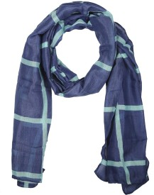 Holidae Checkered Viscos georgette Women's Scarf