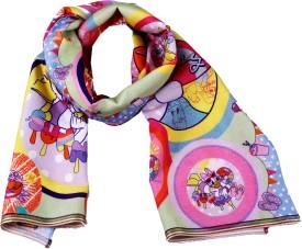 Disney By Shingora Printed Cotton, Viscose Women's Scarf - SCFE3YX82CZX5JWB