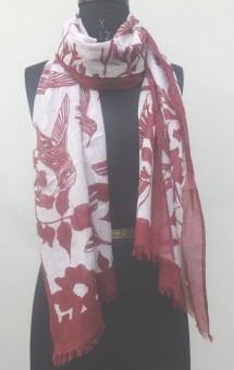 Add To Style Self Design 100% Cotton Girl's, Women's Scarf
