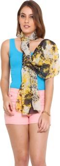 J Style Printed Cotton Women's Scarf