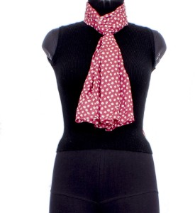 Trendif Printed Cotton Women's Scarf - SCFE77327XF2TMEZ