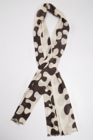 Toscee Printed 100% Cashmere Women's Scarf