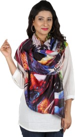 Etoles Printed Cotton Chanderi Women's Scarf