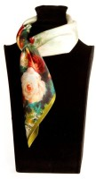 The Vatican Floral Silk Women's Scarf
