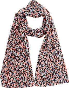 Hi Look Floral Print Polyester Women's Scarf - SCFEBN35CVE5ANFG
