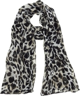 Hi Look Animal Print Polyester Women's Scarf