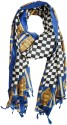 Indiatrendzs Checkered Polyester Women's Scarf