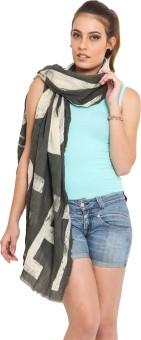J Style Printed Cotton Women's Scarf - SCFE8HPWGAZ8BP4C