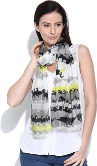 Citypret Animal Print Viscose Women's Scarf