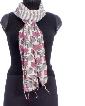 Trendif Floral Print Viscose Women's Scarf - SCFE7732JCFUPPGQ