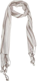Cashmere Craft Striped Viscose Women's Scarf