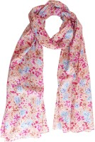 Hi Look Floral Cotton Women's Scarf