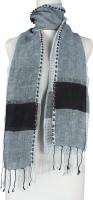 Vozaf Self Design Cotton, Linen Women's Scarf