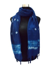 Shiborika Self Design Cotton Women's Stole