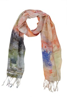 The Scarf Shop Graphic Print Silk Modal Women's Scarf