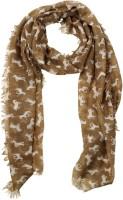 20 Dresses Animal Print Cotton, Viscose Women's Scarf