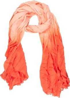 Amaryllis Self Design Cotton Silk Women's Scarf