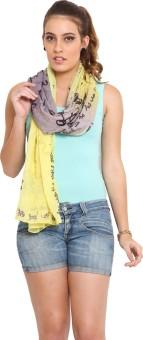 J Style Printed Cotton Women's Scarf - SCFE8HPXWHCCPTWQ