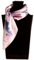 The Vatican Printed Silk Women's Scarf