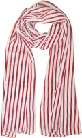 Hi Look Striped Polyester Women's Scarf - SCFDWTJARSAHKUQZ