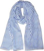 Hi Look Striped Polyester Women's Scarf - SCFDWTJAMFZACYU2