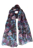 Hi Look Printed Rayon Women's Scarf