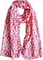 Hi Look Floral Print Polyester Women's Scarf - SCFDX6YH6YBYCZ7Y