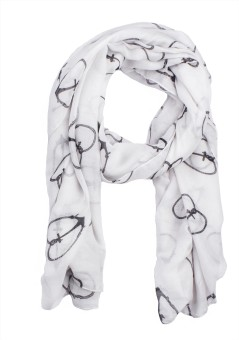 Noise Animal Print Viscose Women's Scarf - SCFE4JCCSYAQTZAC