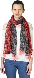 BE BELEZA Printed Poly blend Women's Stole