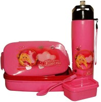 Rishabh Princess Super Kid Lunch Box Combo School Set