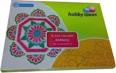 Buy Pidilite Hobby Ideas Traditional Glass - Clr Rangoli (Diwali Kit): School Set