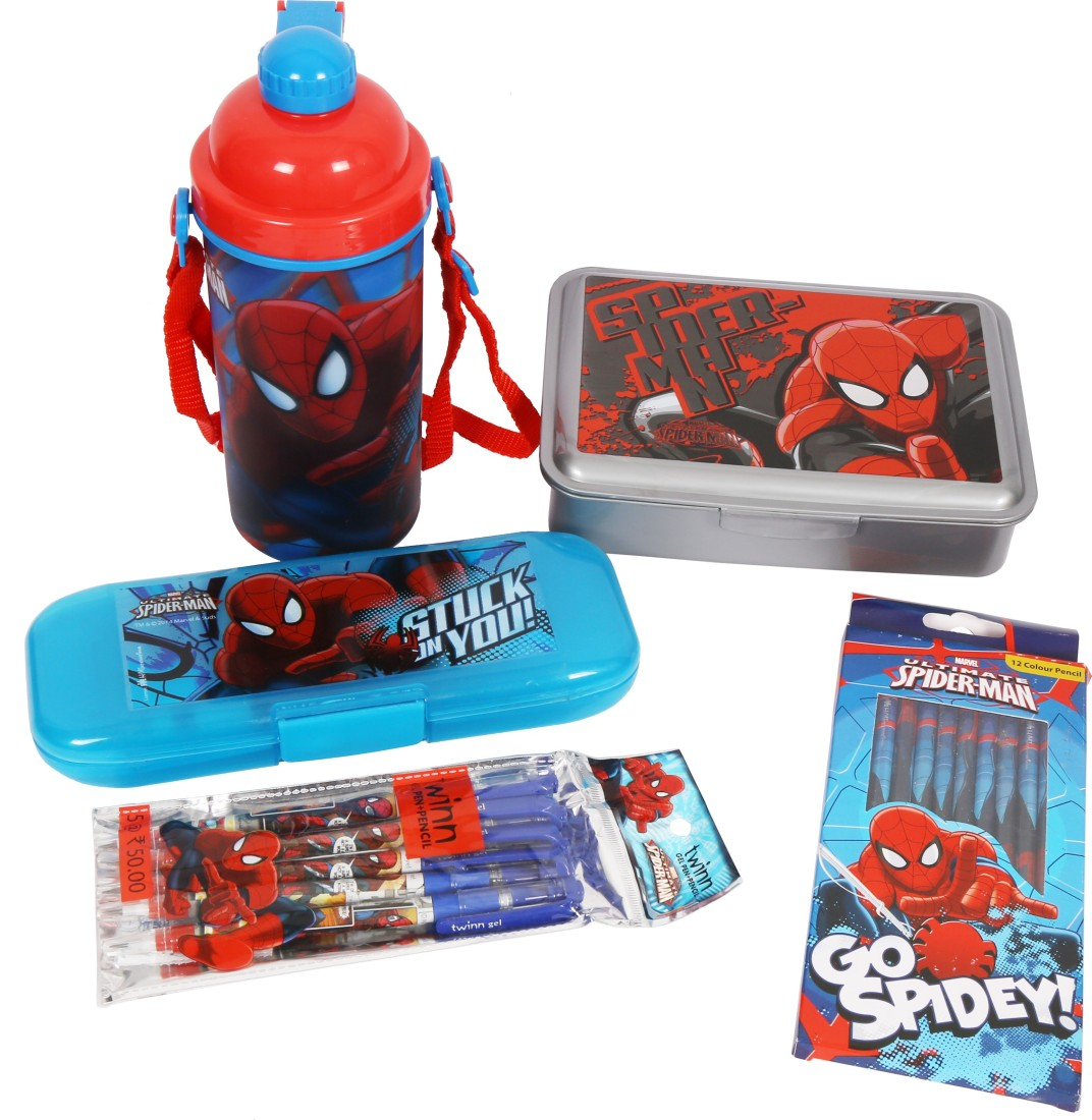 Marvel Spiderman School Set