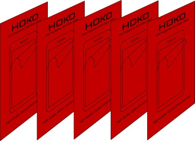 HOKO Pack of 5 Matte HM336 Anti Fingerprint Screen Protector for HTC Desire 600 Dual Sim