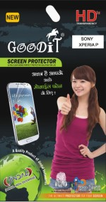 Goodit Mobiles & Accessories Goodit Screen Guard for Sony Xperia P