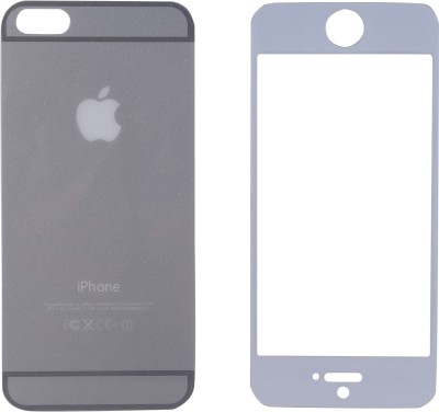 JustX OX-Lt Grey Tempered Glass for Apple iPhone 5