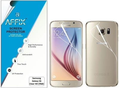 Affix Clear HD Front & Back Protector for Samsung Galaxy S6
