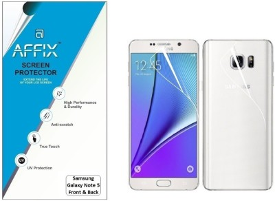 Affix P1CL030 Clear Front & Back Protector for Samsung Galaxy Note 5