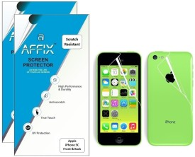 Affix P2SR003 Pack of 2 Scratch Resistant Front & Back Protector for Apple iPhone 5C