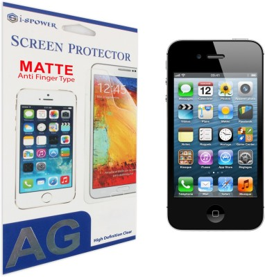 Si-Spower ISPAFPIPH4 Matte Screen Guard for iPhone 4