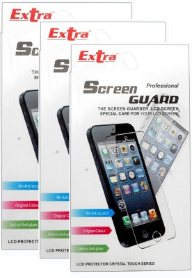 Extra Clear Protector  EXCSPMMA116P3 Screen Guard for Micromax Canvas HD A116 Pack of 3 available at Flipkart for Rs.210
