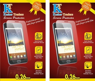 Kosher Traders kost-3589 2 Matte finish Screen Guard for Micromax Canvas Sliver 5 Q450