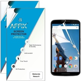 Affix P2SR101 Pack of 2 Scratch Resistant Screen Guard for Motorola Nexus 6