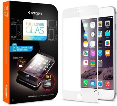 Spigen SGP11379 Full Coverage Tempered Glass Screen Guard for Apple iPhone 6 Plus/6S Plus