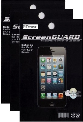 Rdcase Pack of 3 Screen Protector for Micromax Canvas Spark Q380 Screen Guard for Micromax Canvas Spark Q380